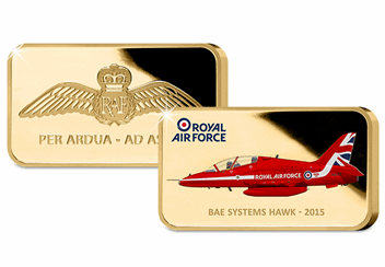Red-Arrows-2015-Tailfin-Gold-Plated-Ingot-Front-Back.png