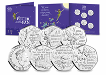 The Official Peter Pan 50p Set