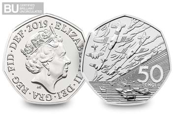 DN 2019_The_50th_Anniversary_of_the_50p_Military set_BU_50p Coin product images3.jpg