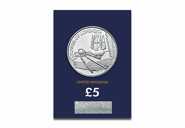 2019 Britain Tower London Yeoman Warder Silver Proof £5 GEM Proof OGP SKU58505