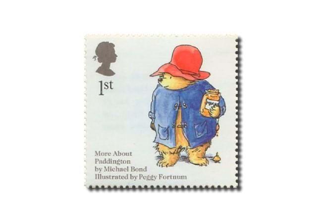 Paddington Bear Toast Stamp Set of 4 in sealed packs Ideal Present