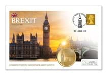 Mark historic Brexit day with the 2020 Brexit Commemorative Cover. Only 2,020 are available worldwide - postmarked with the all-important 'Brexit-day' date - 31st January 2020.