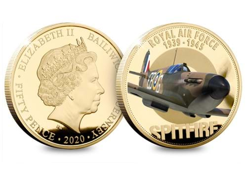 LS-2020-RAF-1939---1945-Spitfire-round-50p-Gold-with-colour.jpg
