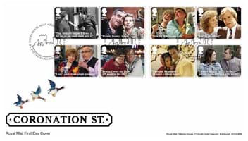 Coronation Street Stamps Tallents House FDC.jpg