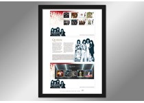 The Ultimate Framed Edition includes Royal Mail's 2020 Queen stamps and Mini Sheet First Day Covers with the official release notes in an A3 frame, postmarked with the First Day of Issue, 09/07/2020