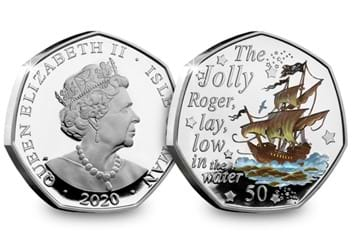 LS-IOM-Silver-with-colour-50p-Peter-Pan-Jolly-Roger-both-sides.jpg