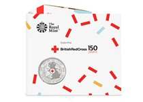 This £5 has been struck by The Royal Mint to commemorate 150 years of the British Red Cross. It has been struck to a Brilliant Uncirculated finish and comes in a bespoke Royal Mint presentation pack.