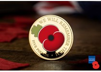 Since the Westminster Collection partnered with The Royal British Legion in 2004, over £1.1 million has been rasied for the charity. This years poppy coin features the modern poppy