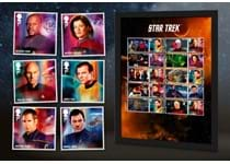 Features Royal Mail's brand new 2020 Star Trek Collector Sheet alongside officially licensed Philatelic Labels. The stamps are postmarked with the First Day of Issue, 13.11.20. EL: 1,995