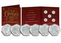 To celebrate Christmas 2020 a brand new 50p coin collection has been released depicting renowned Christmas Carols.
