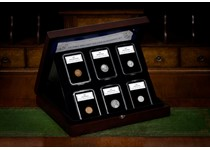 This set includes the first and last coins issued by the US Mint in the same year with different designs.