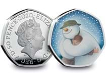 The official 2020 Snowman 50p. It has been struck from Silver to a proof finish and features a colour image of The Snowman. Comes in Royal Mint presentation case with certificate of authenticity.