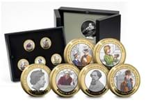 2020 marks the 150th anniversary of Charles Dickens death. To commemorate Jersey have released a Silver £2 Set featuring some of his most famous works.
