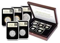 This UK 2021 Specimen Set DateStamp contains 5 new BU coins issued by the Royal Mint for 2021. Postmarked with date 04/01/2021 by Royal Mail. Each coin is in tamperproof capsule. Edition limit: 995