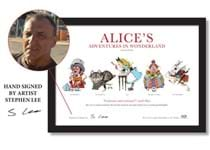 To celebrate 150 years since 'Alice' first came to life, you can now own a stunning A4 print feturing the main characters from the book.