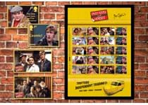 Your Only Fools and Horses Signed Collector Sheet Framed Edition is limited to only 600 pieces.