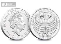 This £5 coin has been issued to commemorate the 150th anniversary of The Royal Albert Hall.