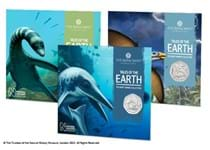 This collection includes all three 50ps issued as part of The Royal Mint's Mary Anning Collection. Each 50p is struck to BU quality and is individually presented in its original Royal Mint packaging.