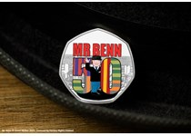 To celebrate the 50th Anniversary of the Mr Benn TV series a 50p coin has been released by Guernsey featuring Mr Benn on .925 Sterling Silver with colour. Comes in box with Certof Authenticity.