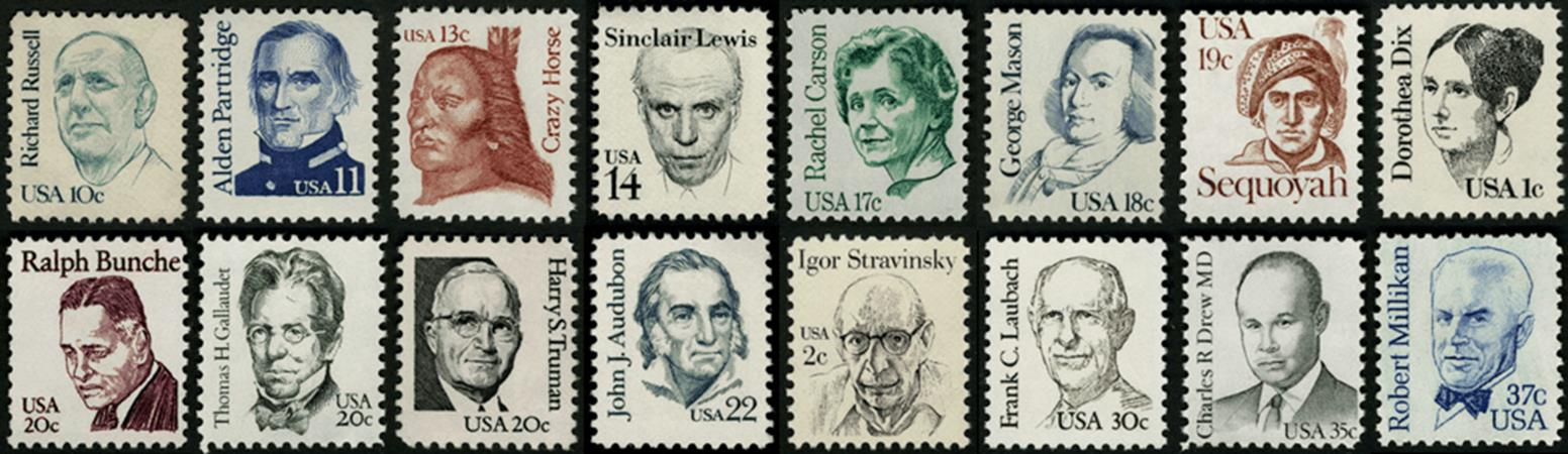 Own the us post office 39 s most popular issues ever for Post office design your own stamps
