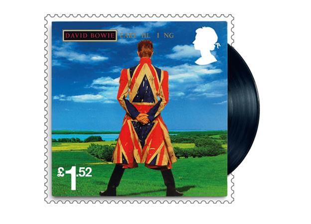 David Bowie Commemorated On Royal Mail Stamps