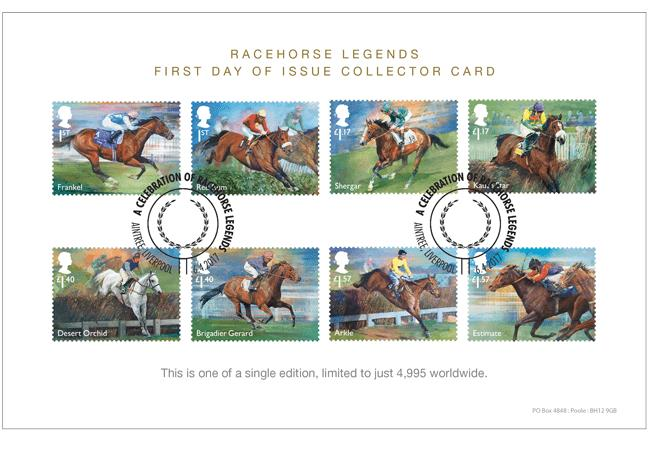 Racehorse Legends Collector Card