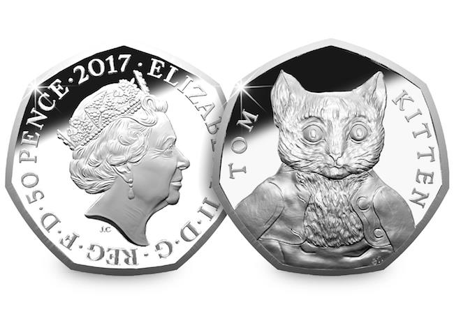 Own All Four 2017 Beatrix Potter 50p Coins Ready To Display