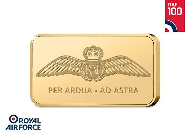 82959878ece Own the official ingot honouring 100 years of the RAF – Save £20.00