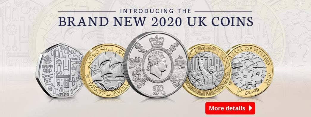 Brand New 2020 UK Coins