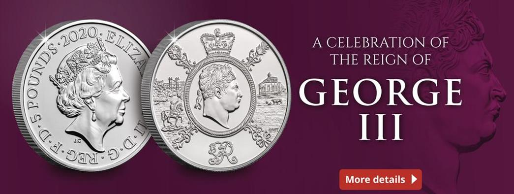 Introducing the UK 2020 King George III £5 Coin