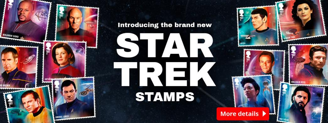 Introducing the brand new Star Trek Stamps!