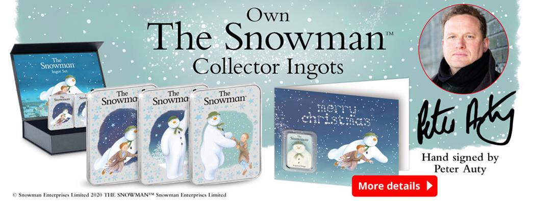 Own The Snowman Collector Ingots