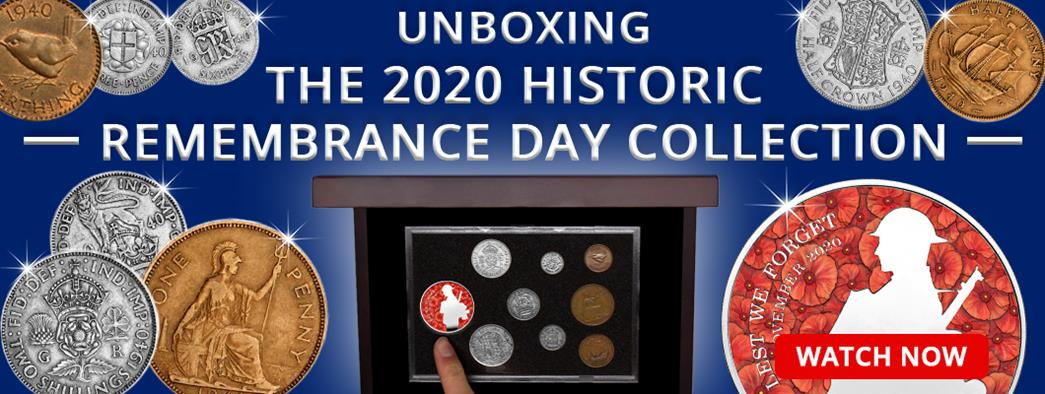Unboxing the Remembrance Day Collection with over 75 years of military history!