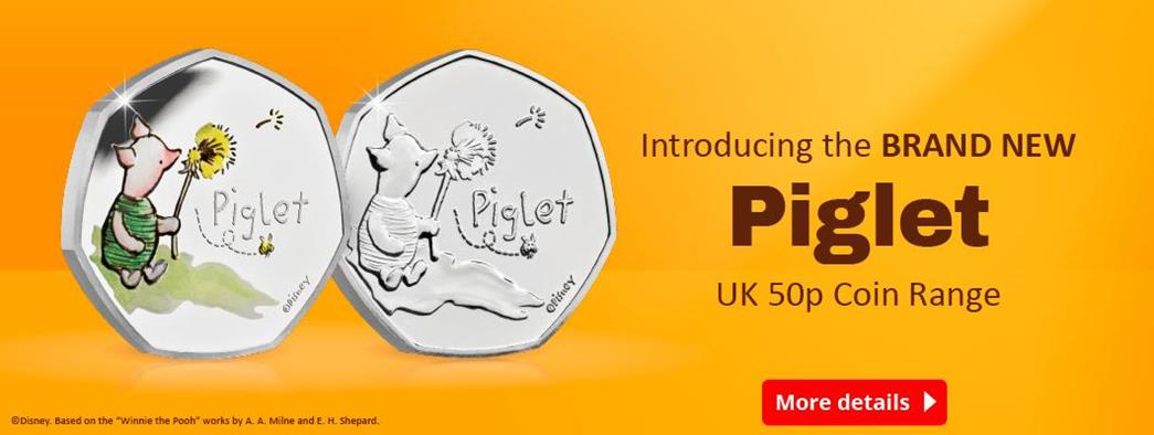 Own the complete 2020 UK Winnie the Pooh 50p collection!