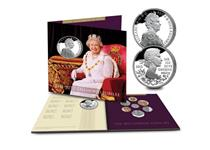 To commemorate the Queen's Diamond Jubilee, the Royal Mint issued an exclusive, limited edition Diamond Jubilee Coin Collection.  It contains the official UK Diamond Jubilee £5 Pound Coin.