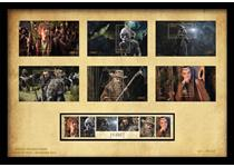 Exclusive, framed collection of the new 'The Hobbit' Stamps. Issued by New Zealand Post to mark the release of the first The Hobbit film, thes tamps feature key characters from the film.