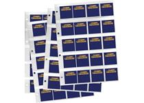 4 x PVC pocket pages to fit in Change Checker Album. Includes 80 blank Change Checker ID cards