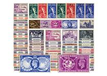 310 stamps from 84 different countries to celebrate the 75th anniversary of the Universal Postal Union. The largest Omnibus collection ever issued, it comes presented in a Presentation album.