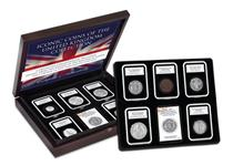 This set comprises of 10 of the most iconic coins of the UK from the reign of William IV right though to QEII.