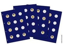 Collect up to 48 x UK £1 coins with this Change Checker Prestige Collecting Pack - including 4 Collector Pages.