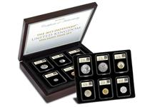 A carefully selected set of 12 Brilliant Uncirculated specimen coins. Newly issued for 2015, each coin is encapsulated in a tamperproof capsule and postmarked 1st January 2015.