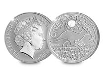 Own the 2009 version of the Royal Australian Mint's annually issued Kangaroo coin. It features a brand new design by artist Ken Done and has been struck in silver with a reverse frosted finish.