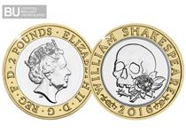 This Brilliant Uncirculated 50p was released as part of a set paying tribute to the work of William Shakespeare