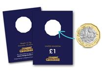 Protect the first new 12-sided £1 coin that you find in your change with the Change Checker+ £1 Collecting Card.