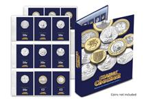 Now you can collect all 12 circulating commemorative coins direct form your change with the new Change Checker+ 2016 Collectors Pack and the official Change Checker Album.