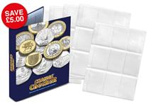 The Change Checker Plus Album and Page set includes 5 x additional PVC pages to store your Change Checker+ Protective Collecting Cards that fit neatly in the Change Checker Album.