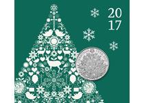 This Christmas Tree £5 BU Pack has been issued by The Royal Mint to celebrate Christmas. The Christmas tree is at the centre of the festive celebrations.
