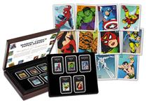 Boxed collection of USA's Marvel Superheroes Stamps, featuring comic-style drawings of Superheroes such as Spider-Man and Captain America. All preserved in cases in a Presentation Case. EL: 995.