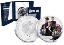 This silver proof coin has been released to mark the end of the 10th series of Doctor Who, and features the Twelfth Doctor (played by Peter Capaldi). Officially licensed by the BBC.