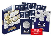 The 2018 UK Complete EARLY STRIKE 10p Set includes all of the A-Z 10p coins issued by The Royal Mint in 2018. Each 10p has been protectively encapsulated and Certified as an Early Strike UK coin.